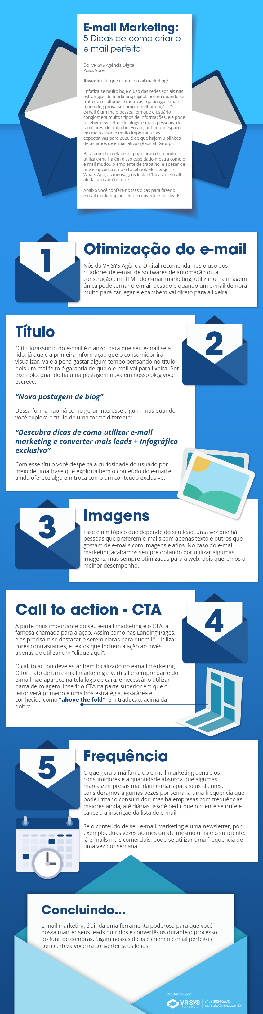 e mail marketing por que usar e como usar infografico