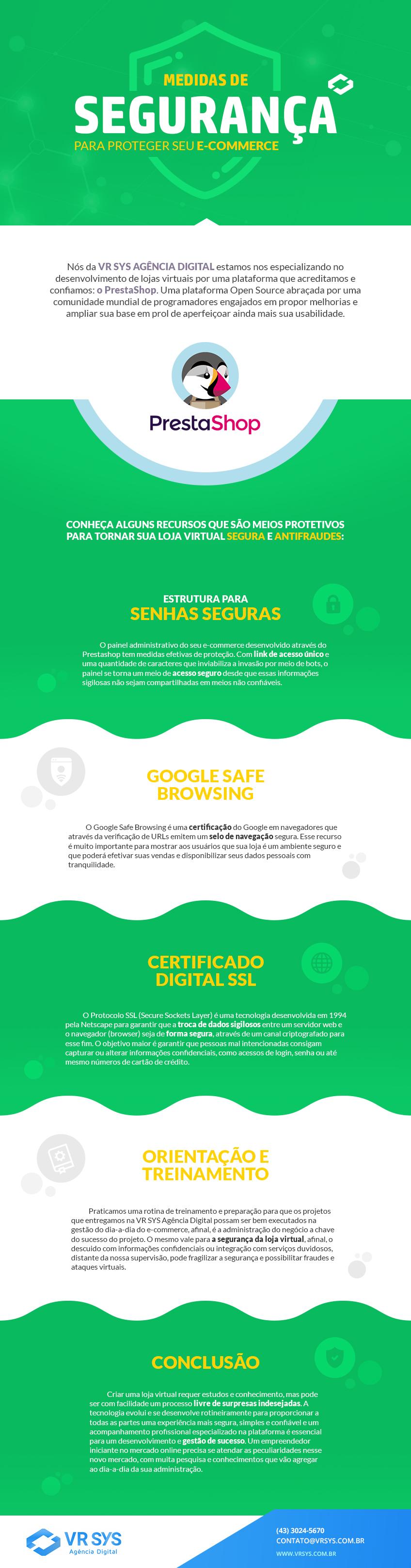 Medidas de segurança para proteger seu e-commerce