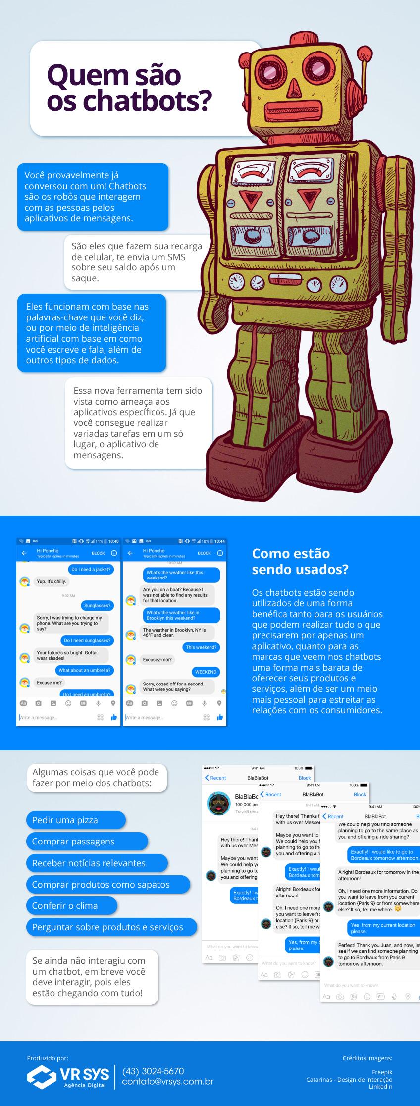 O que são chatbots e como as empresas estão se beneficiando deles?